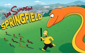 Les Simpson Springfield sur Android : un problème avec la mise à jour