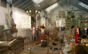 Alice au Pays des Merveilles et Hollywood dans un hidden objects sur Facebook !