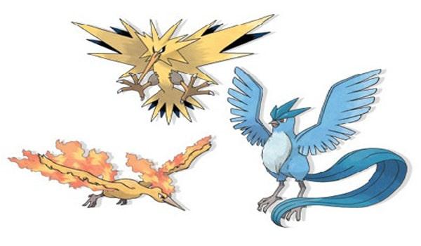 Comment capturer oiseaux l gendaires pok mon x et pok mon - Pokemon legendaire pokemon y ...