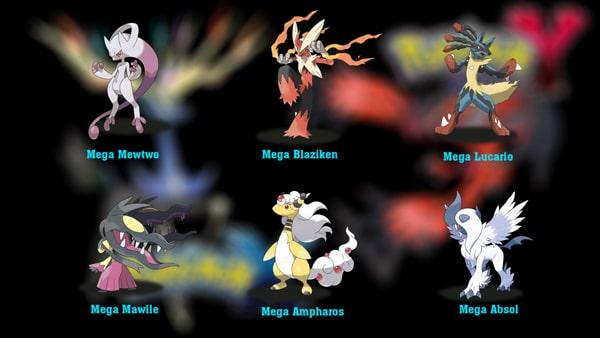 O trouver toutes les m ga gemmes dans pok mon x et pokemon y nozzhy - Les mega evolution pokemon x et y ...