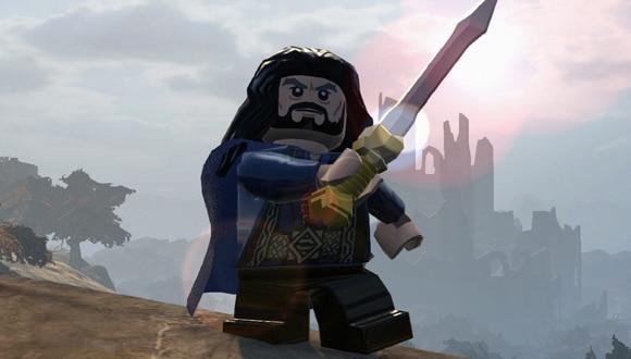 brique rouge et de mithril lego le hobbit