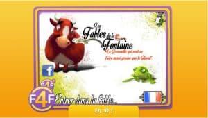Les Fables interactives: la grenouille et le bœuf sur IOS et Android