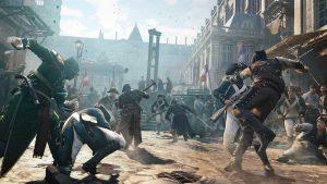Assassin's Creed Unity en tête des classements mondiaux le mois dernier