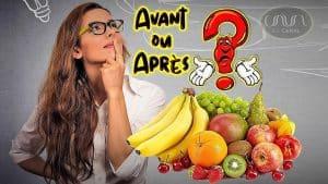 Alimentation : faut-il manger des fruits avant ou après le repas?