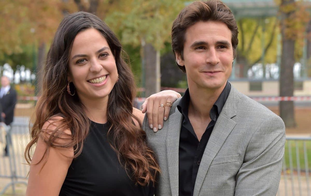 Anouchka Delon profite encore de l'été indien avec son époux, le comédien Julien Dereims!