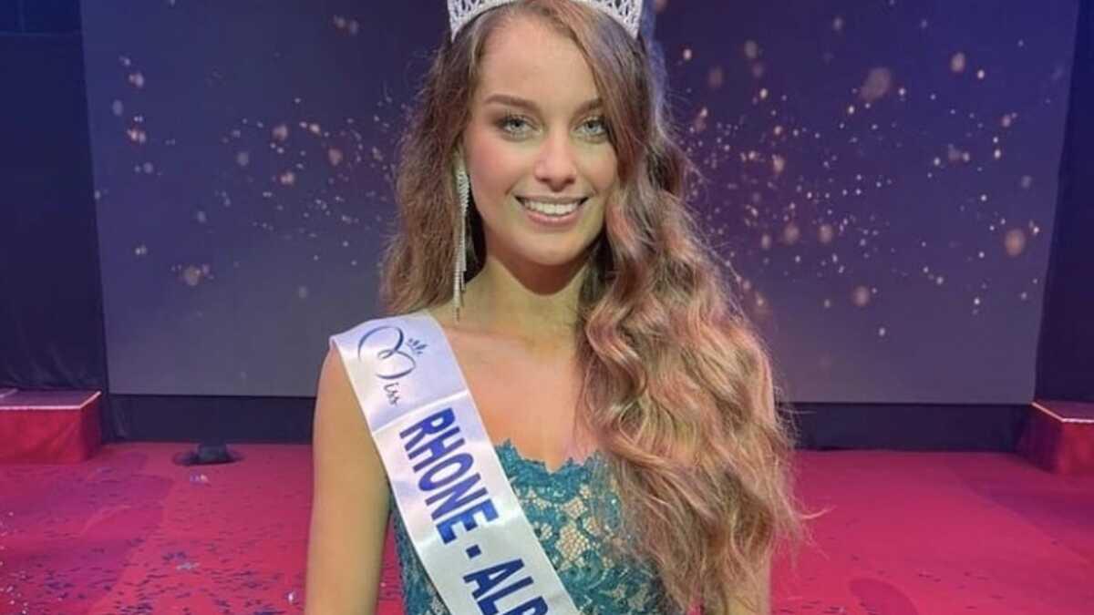 Après Amandine Petit, c'est Charlotte Faure qui représentera la région Rhône-Alpes à l'élection Miss France 2022!