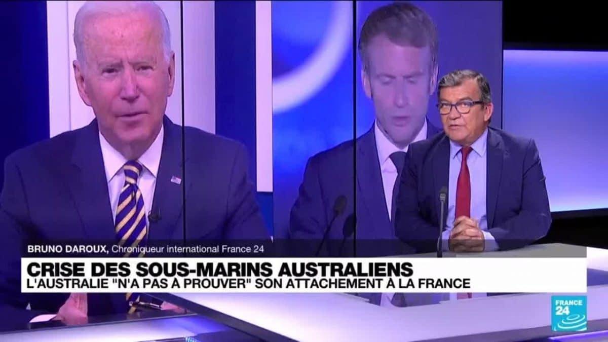 Après la rupture du contrat de vente de sous-marin entre l'Australie et la France, Joe Biden et Emmanuel Macron mettront les choses au clair dans les prochains jours !