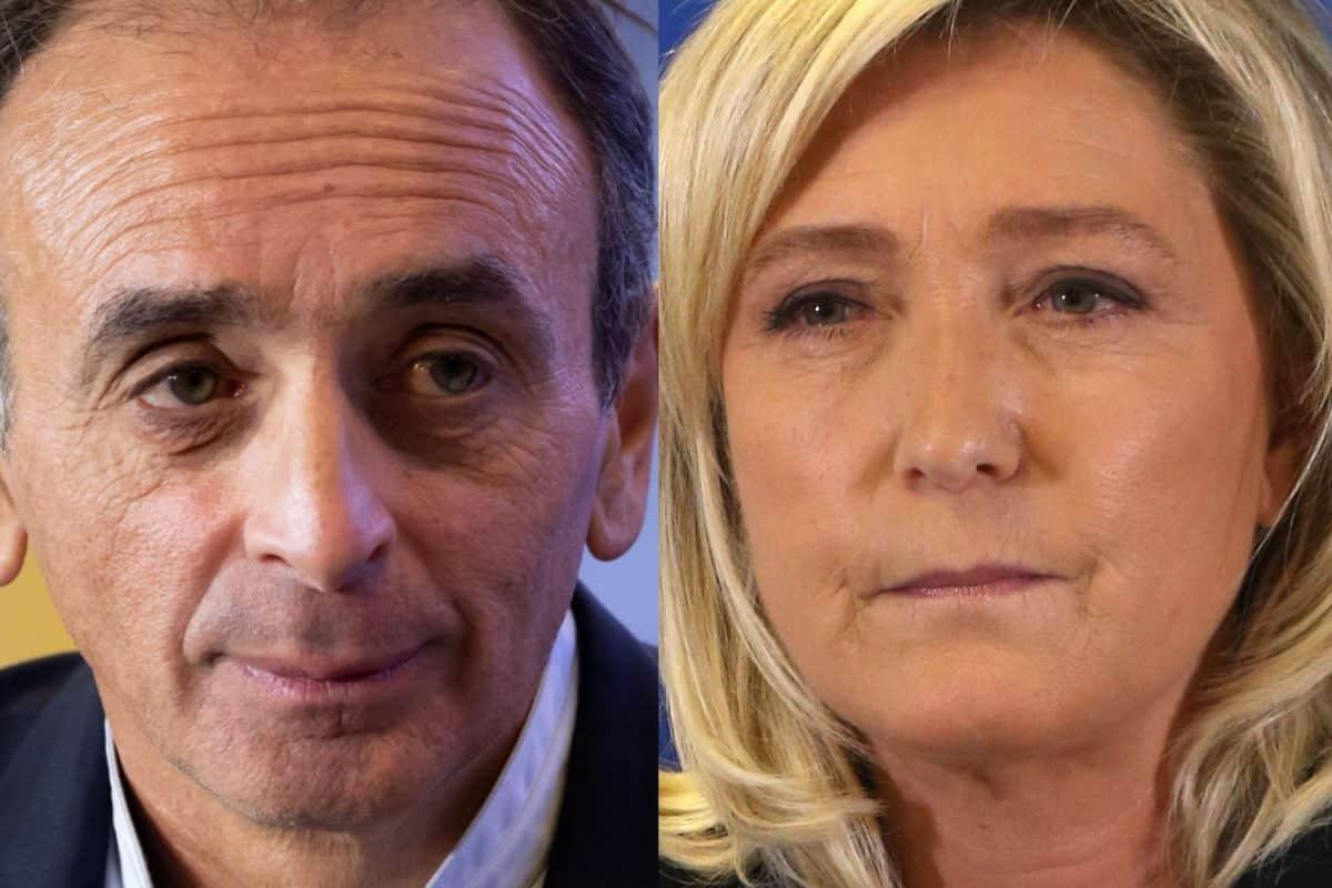 Election présidentielle de 2022 : Marine Le Pen recule dans les sondages, Zemmour et Mélenchon gagne du terrain