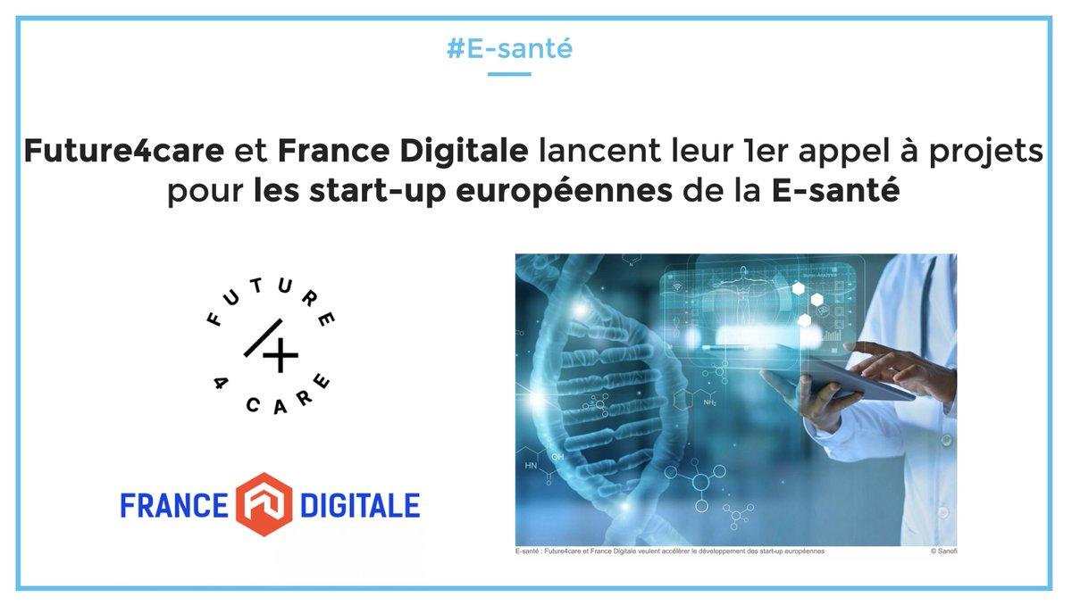 Future4Care et France digitale sont dans une démarche de promotion de l'E-santé en France!