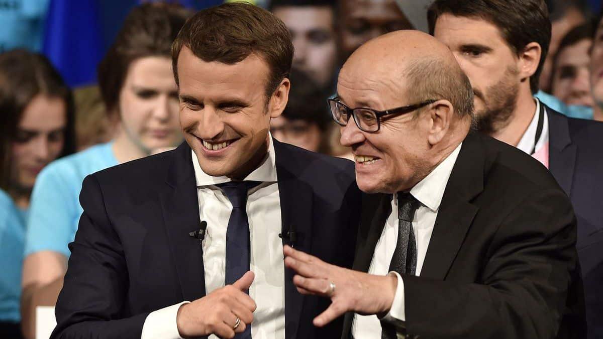 Présidentielle 2022 : nouvelle candidature d'Emmanuel Macron sollicitée par Jean-Yves Le Drian, pour lui le PS n'est plus la locomotive de la gauche!