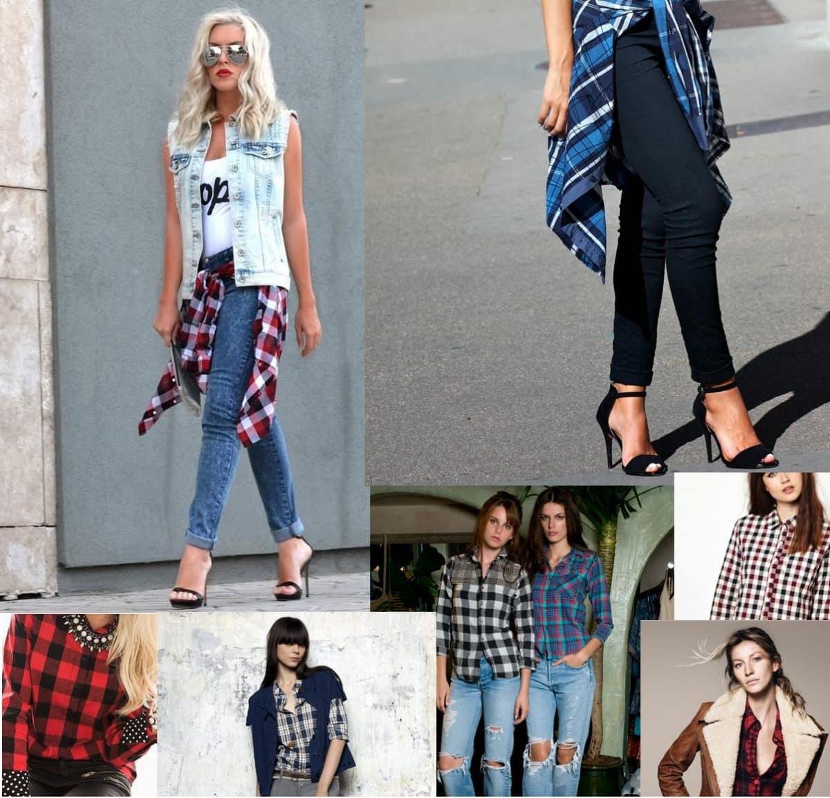 Style : comment porter une chemise à carreaux?